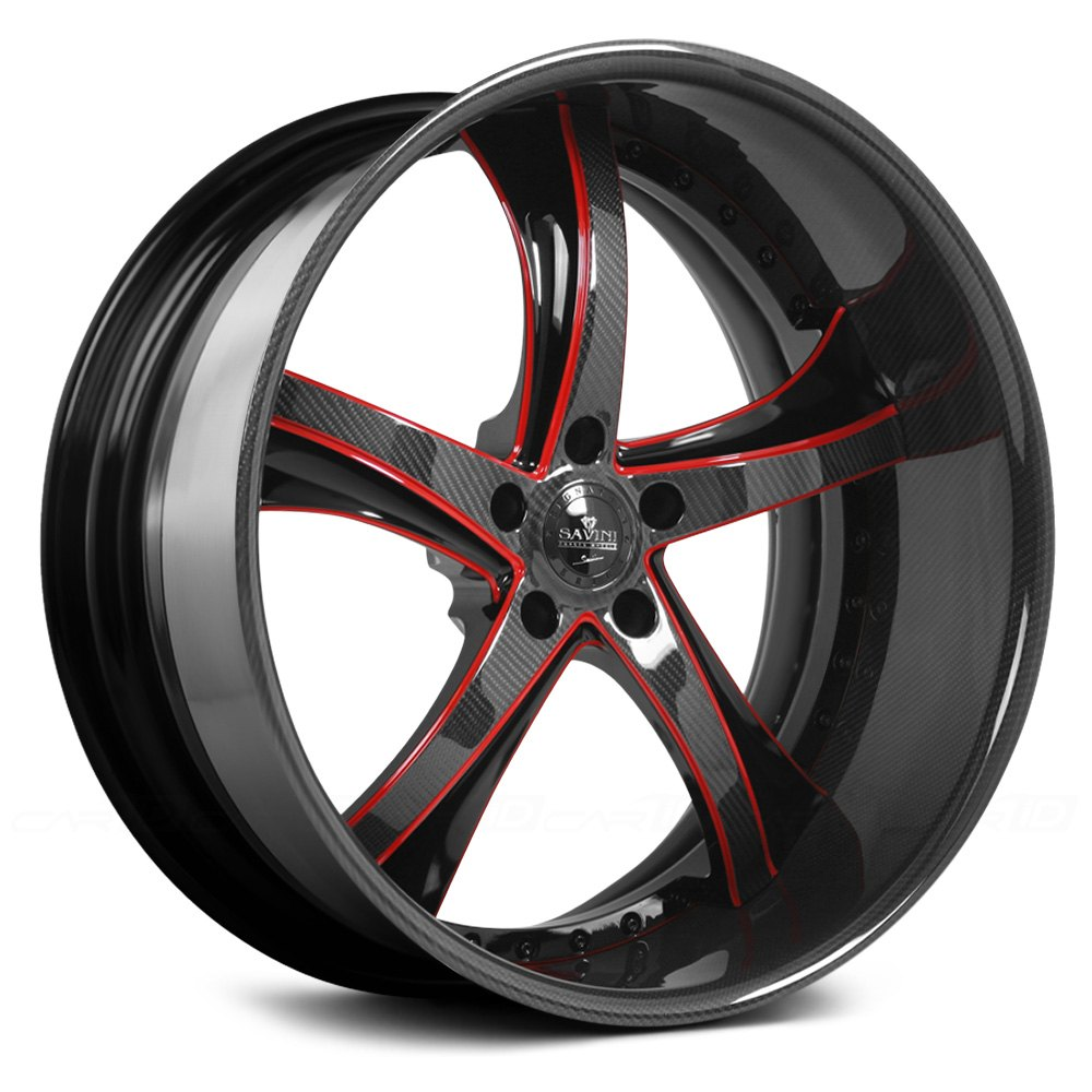 Savini 174 Sv29 3pc Wheels Custom Painted Rims