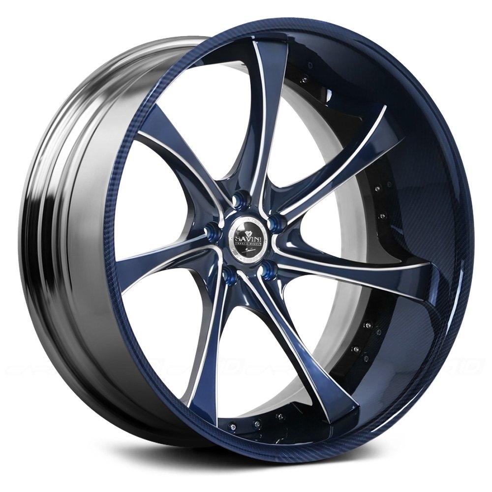 SAVINI® SV31 3PC Wheels - Custom Painted Rims - CARiD.COM
