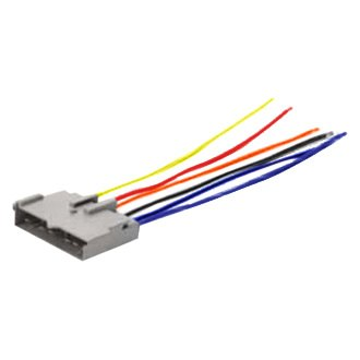 scosche® - ford fusion 2006 aftermarket radio wiring ... ford fusion stereo wiring color diagrams