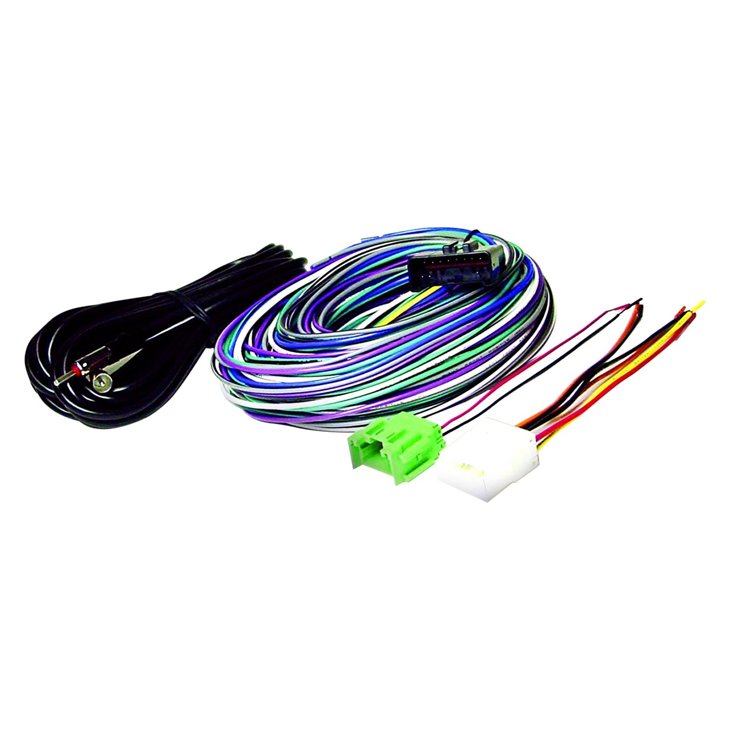 Scosche Radio Wiring Harness For Aftermarket Kit Diagrams Ford Adapter U00ae Fd10b With Oem 05 Malibu Info