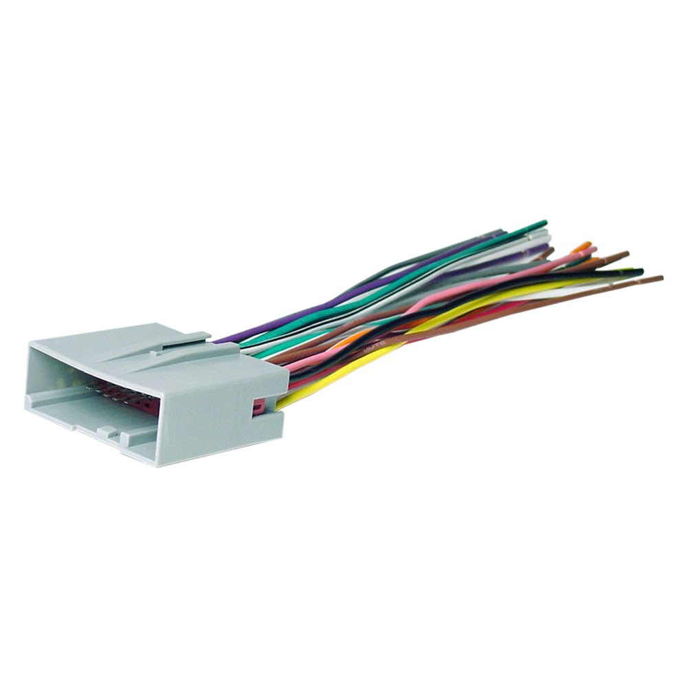 Scosche® - Ford Freestar 2004 Aftermarket Radio Wiring Harness with OEM PlugCARiD.com