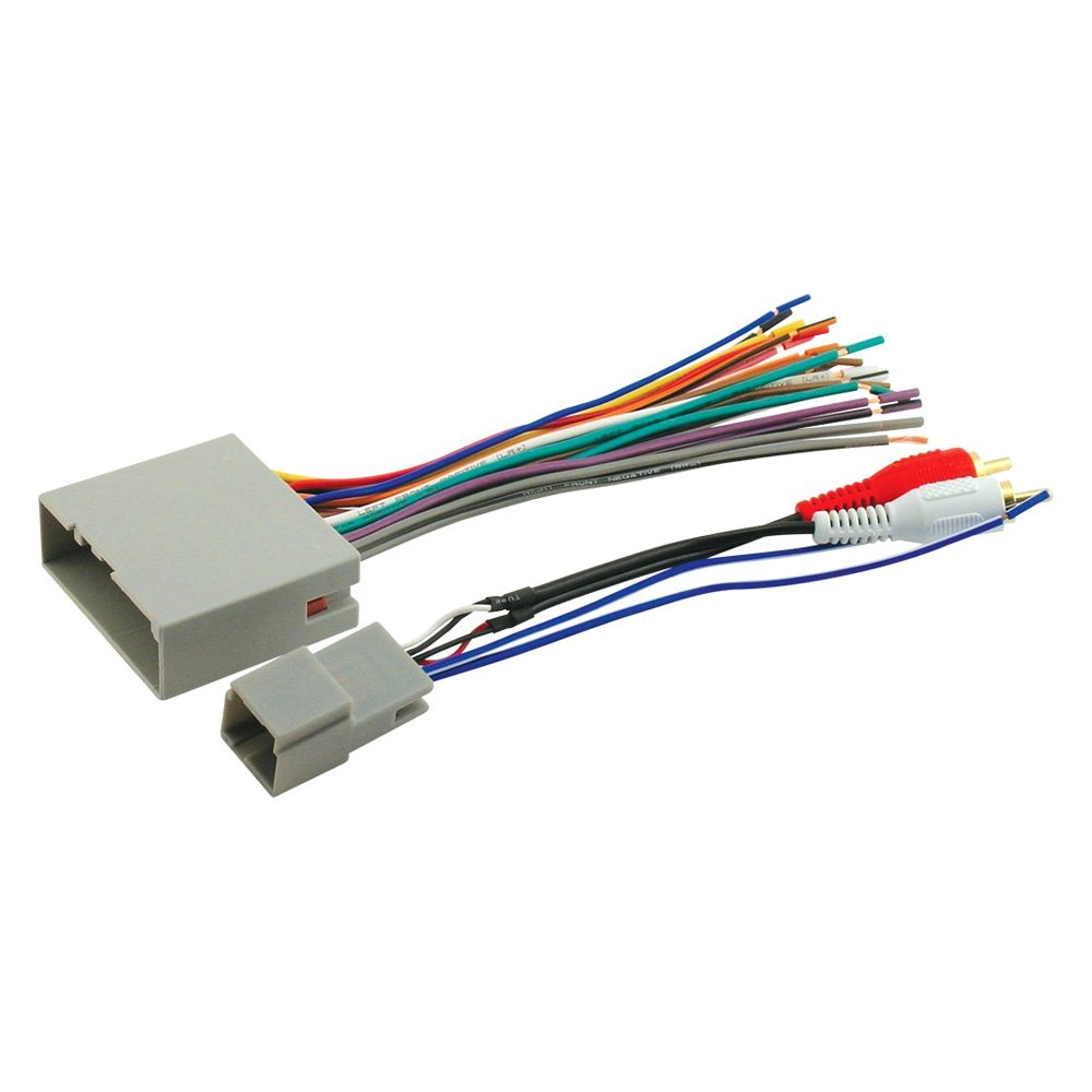 Scosche® - Aftermarket Radio Wiring Harness with OEM Plug
