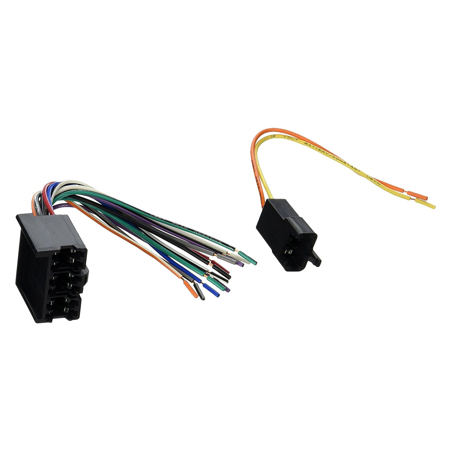 Scosche® - Factory Replacement Wiring Harness with OEM Radio Plug
