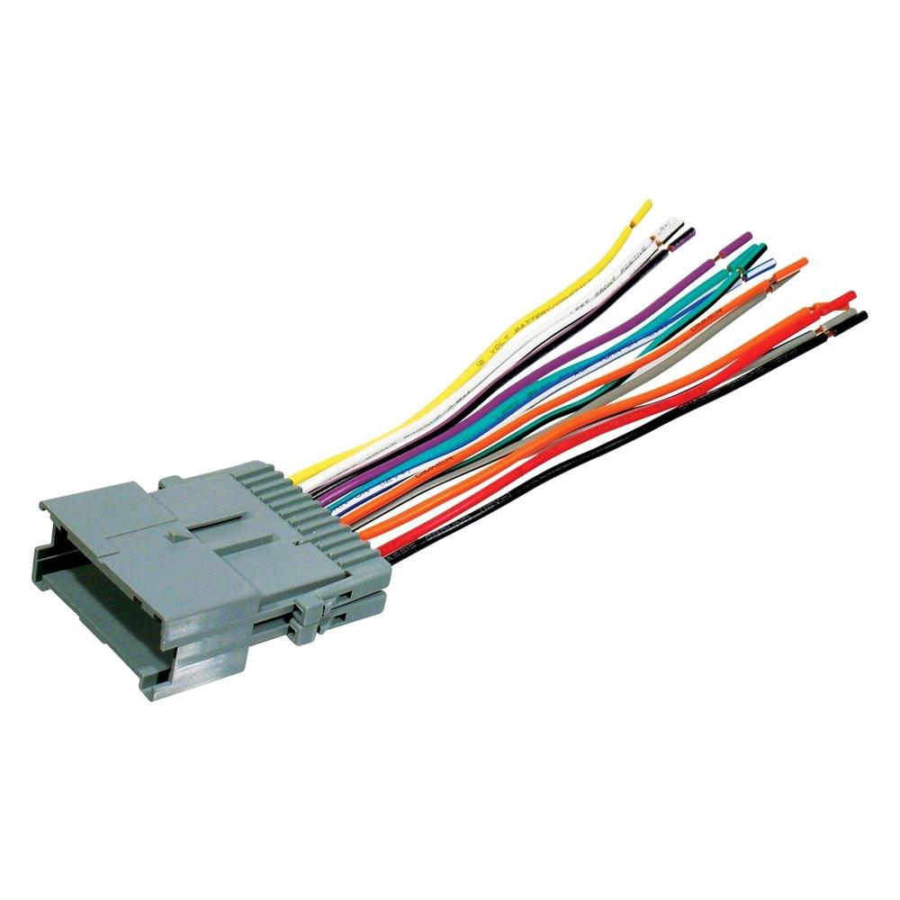 Scosche® GM10B - Aftermarket Radio Wiring Harness with OEM Plug on