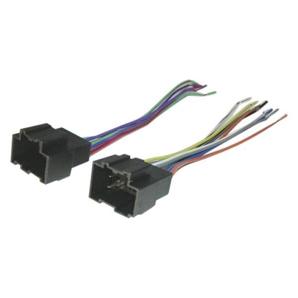 scosche wiring harness color code gm 3000 scosche® - chevy aveo 2008 aftermarket radio wiring ...