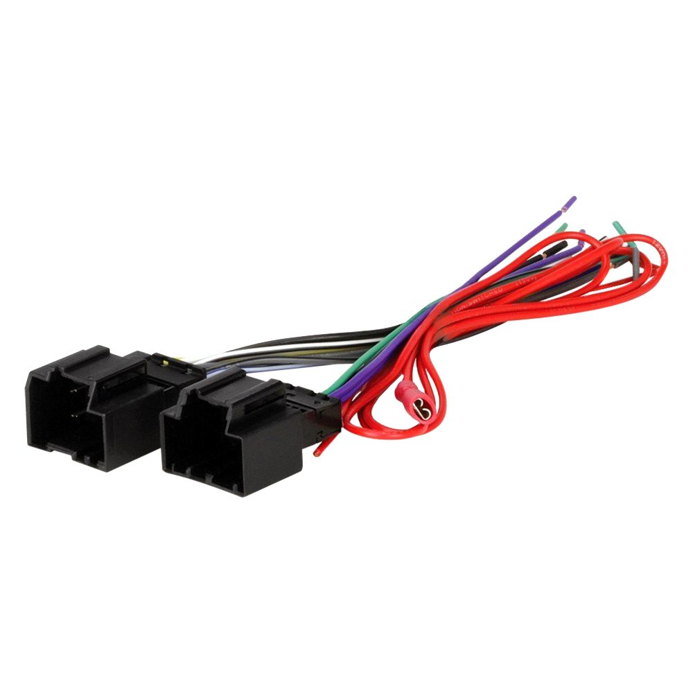 Scosche® - Aftermarket Radio Wiring Harness with OEM Plug, Provides Fly-Out  Lead