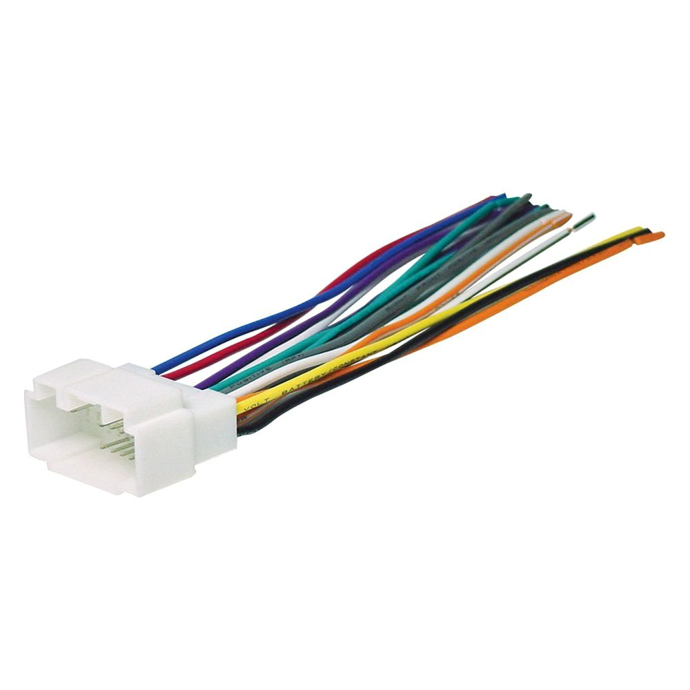 Scosche® - Aftermarket Radio Wiring Harness with OEM Plug