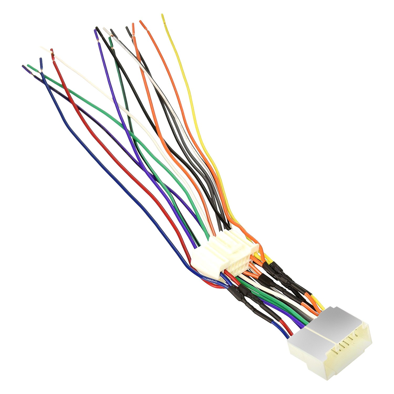 Scosche Ha09b Aftermarket Radio Wiring Harness With Oem Plug Color Code