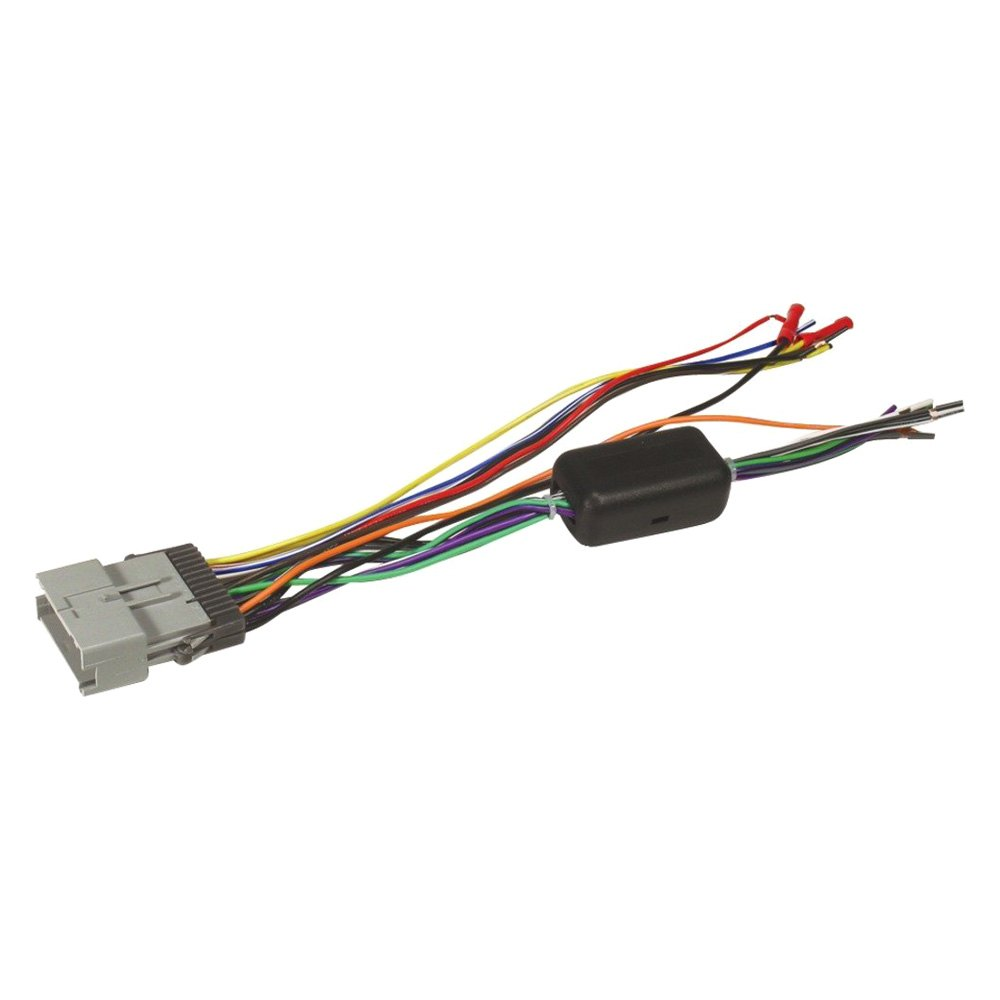 Scosche Hyundai Santa Fe 2013 Aftermarket Radio Wiring Harness Oe With Oem Plug And Retain Amplifier