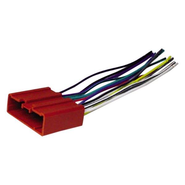 scosche® ma03b - aftermarket radio wiring harness with oem ... scosche wiring harness guide scosche wiring harness