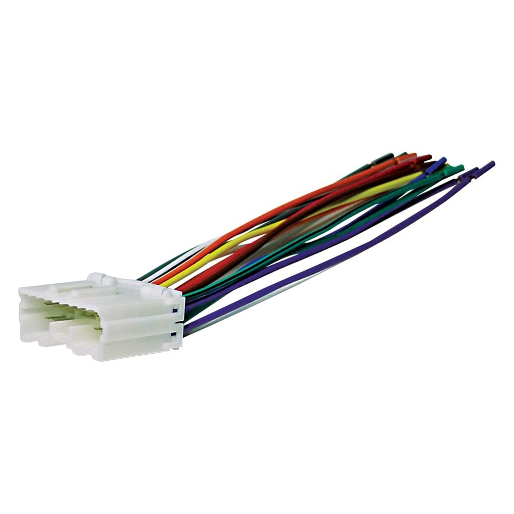 Miraculous Scosche Mi02B Aftermarket Radio Wiring Harness With Oem Plug Wiring Cloud Brecesaoduqqnet