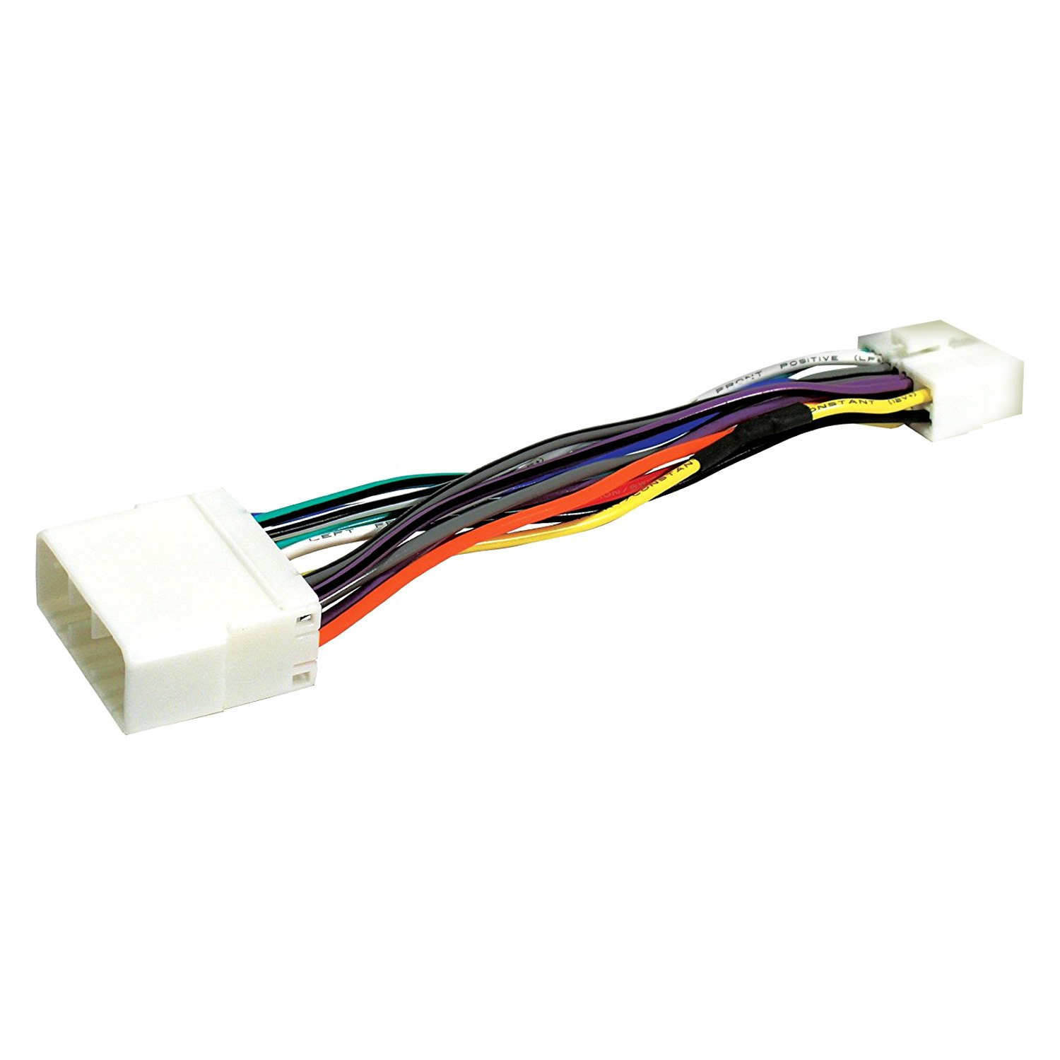 Scosche Smhy02clr16b Direct Connection Aftermarket Stereo Wiring Clarion Electrical Harness 16 Pin