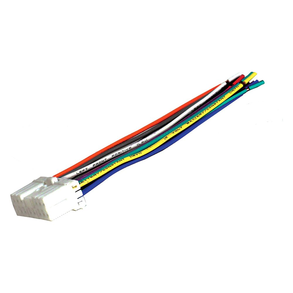 Scosche Su03rb Factory Replacement Wiring Harness With Oem Radio Plug