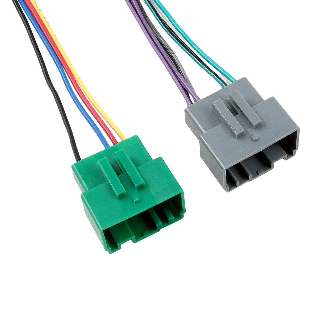 Scosche vo b aftermarket radio wiring harness with oem