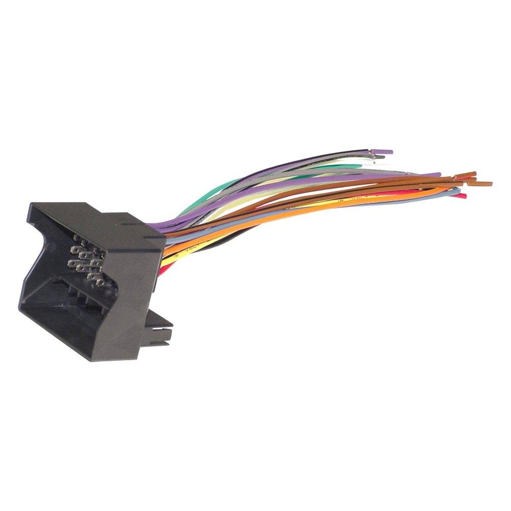 Scosche® VW03B - Aftermarket Radio Wiring Harness with OEM PlugCARiD.com