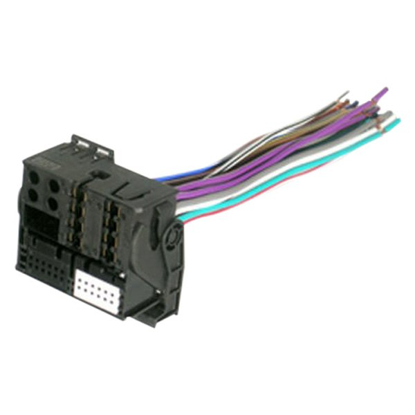 Factory Wiring Harness Replacement : Scosche vw rb factory replacement wiring harness with