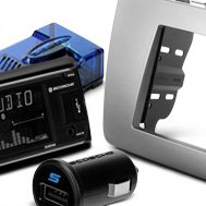 Scosche® - Stereo Replacement Interface and USB Mini Car Charger