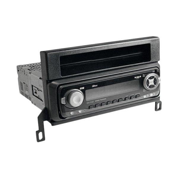 scosche ford f 150 2001 2003 single din black stereo dash kit. Black Bedroom Furniture Sets. Home Design Ideas