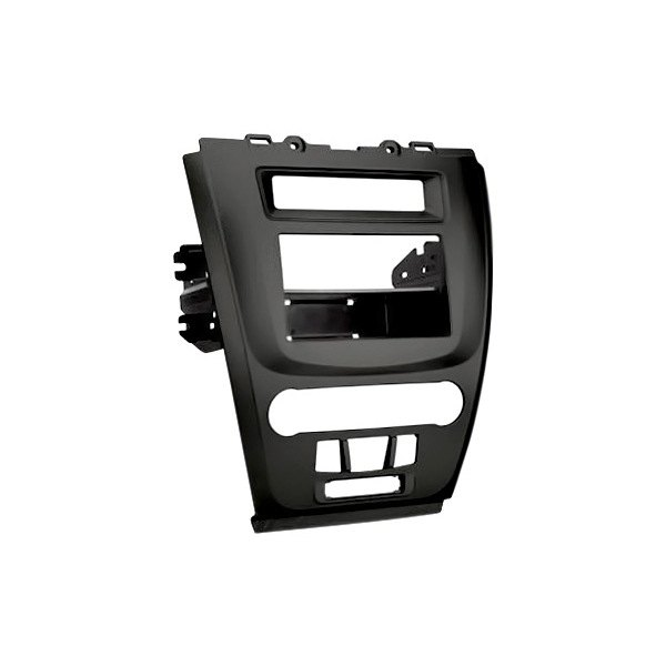 scosche 174 fd1443blkb single din black stereo dash kit