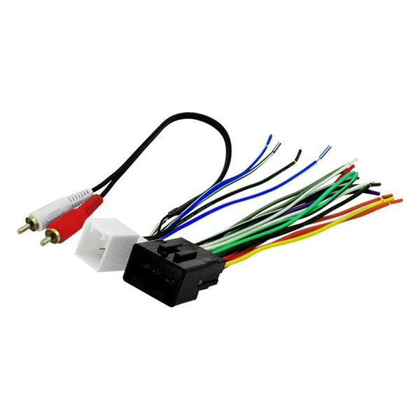 fdk13b scosche� aftermarket radio wiring harness with oem plug scosche wiring harness at gsmx.co