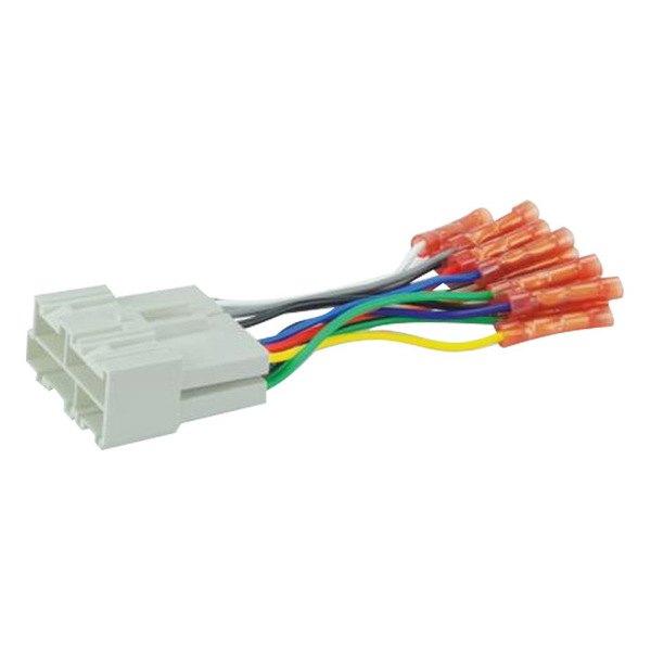 scosche 174 chevy silverado 2001 2002 wiring harness with oem plugs