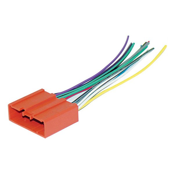 scosche 174 ma03b mazda protege 2003 wiring harness with oem plugs