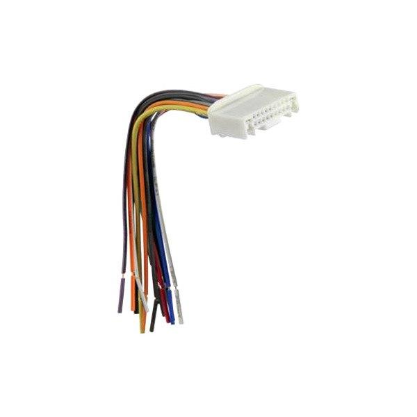 scosche 174 nn04rb nissan altima 2012 wiring harness with oem radio plugs
