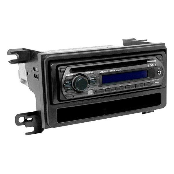 scosche 174 scn2057b scion xb 2008 single din black stereo dash kit