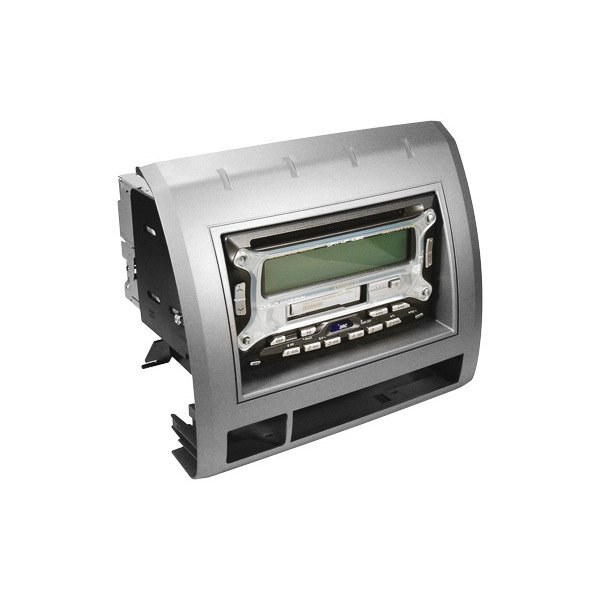 scosche 174 ta2053b din silver stereo dash kit