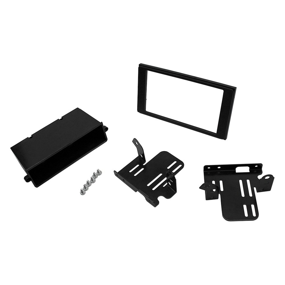 scosche u00ae toyota tacoma 2017 double din black stereo dash Audio Wiring Kit Subwoofer Wiring Kit