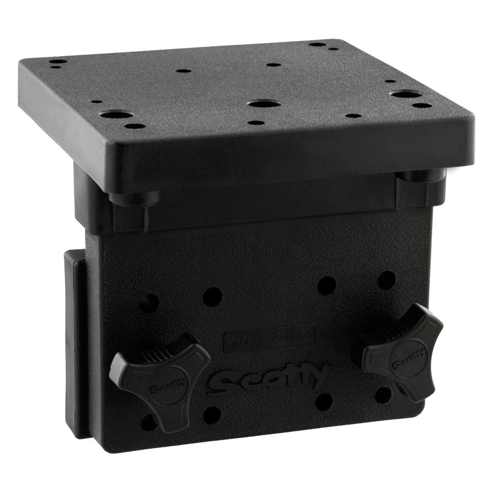 Right Angle Body : Scotty downrigger right angle side gunnel mount
