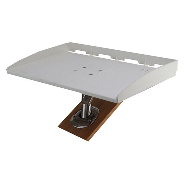 Sea dog 326515 3 30 w x 12 5 8 d rod holder mount for 12 x 30 table