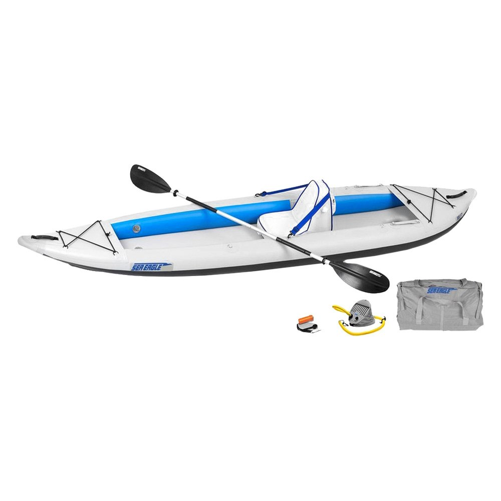 sea eagle fasttrack inflatable kayak. Black Bedroom Furniture Sets. Home Design Ideas
