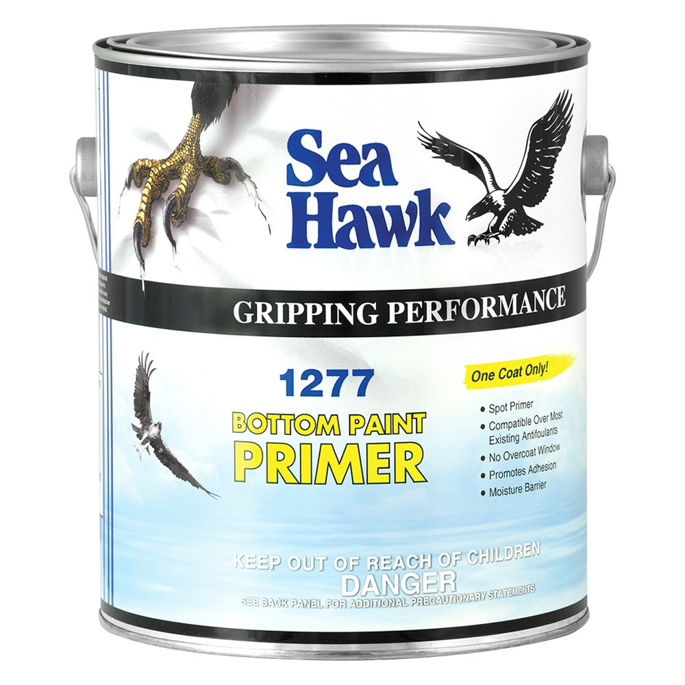 Sea hawk paints 1277gl bottom paint primer 1 gal for Seahawk boat paint