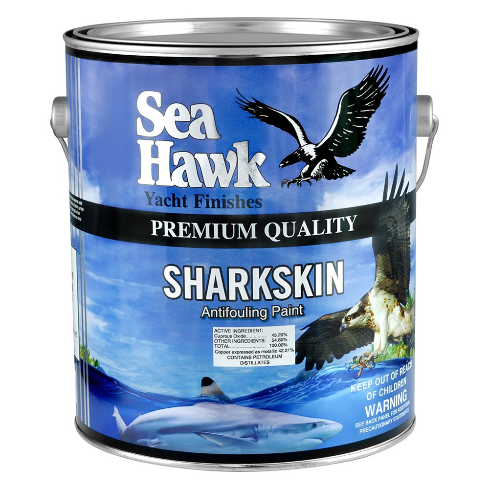 Sea hawk paints 6141gl red sharkskin antifouling paint for Seahawk boat paint