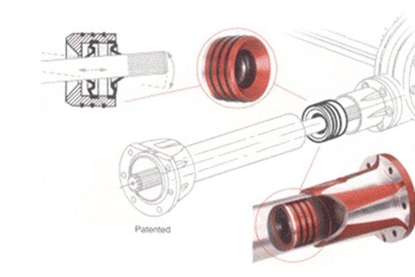 Seals-it® TT9188 - Torque Tube Seal on aircraft main gear, aircraft rudder pedals, aircraft hinge, aircraft bolt, aircraft engine, aircraft landing skids, aircraft washer, aircraft bell crank,