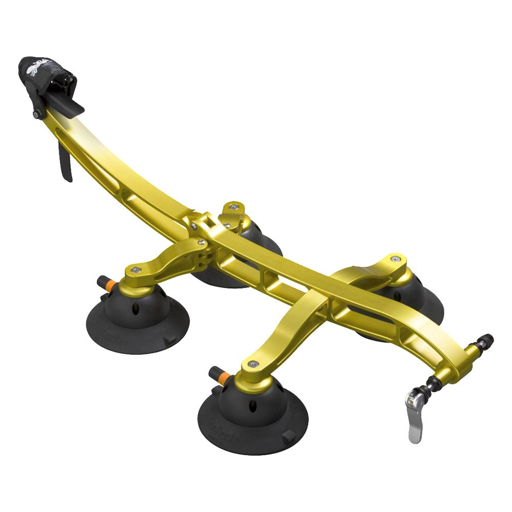 Seasucker 174 Bk1910g Komodo Gold Roof Mount Bike Rack
