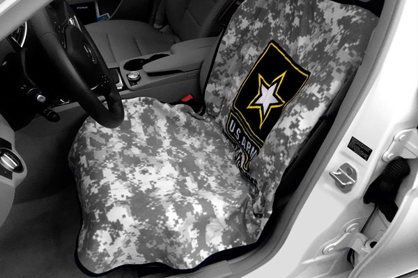 Towel Seat Cover Armour Us Army Camo