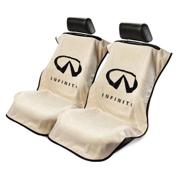 seat armour towel seat cover with infiniti logo. Black Bedroom Furniture Sets. Home Design Ideas