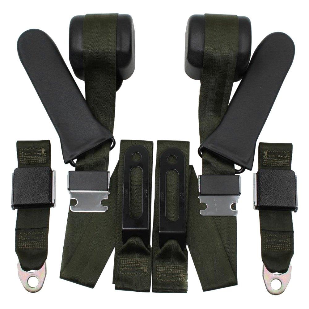 Seatbelt Solutions 3 Point Seat Belts Conversion Kit