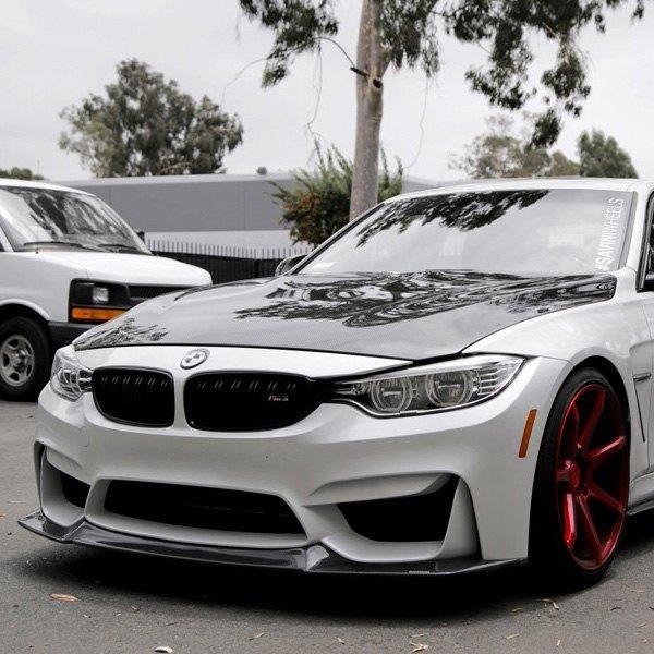 2017 Bmw M3: For BMW M3 2015-2017 Seibon -Style Carbon Fiber Hood
