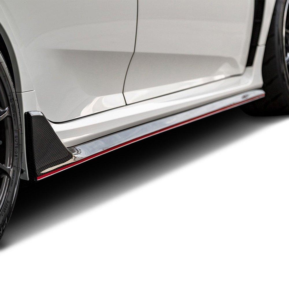 SEIBONu00ae SS17HDCVR-OE - OE-Style Carbon Fiber Side Skirts
