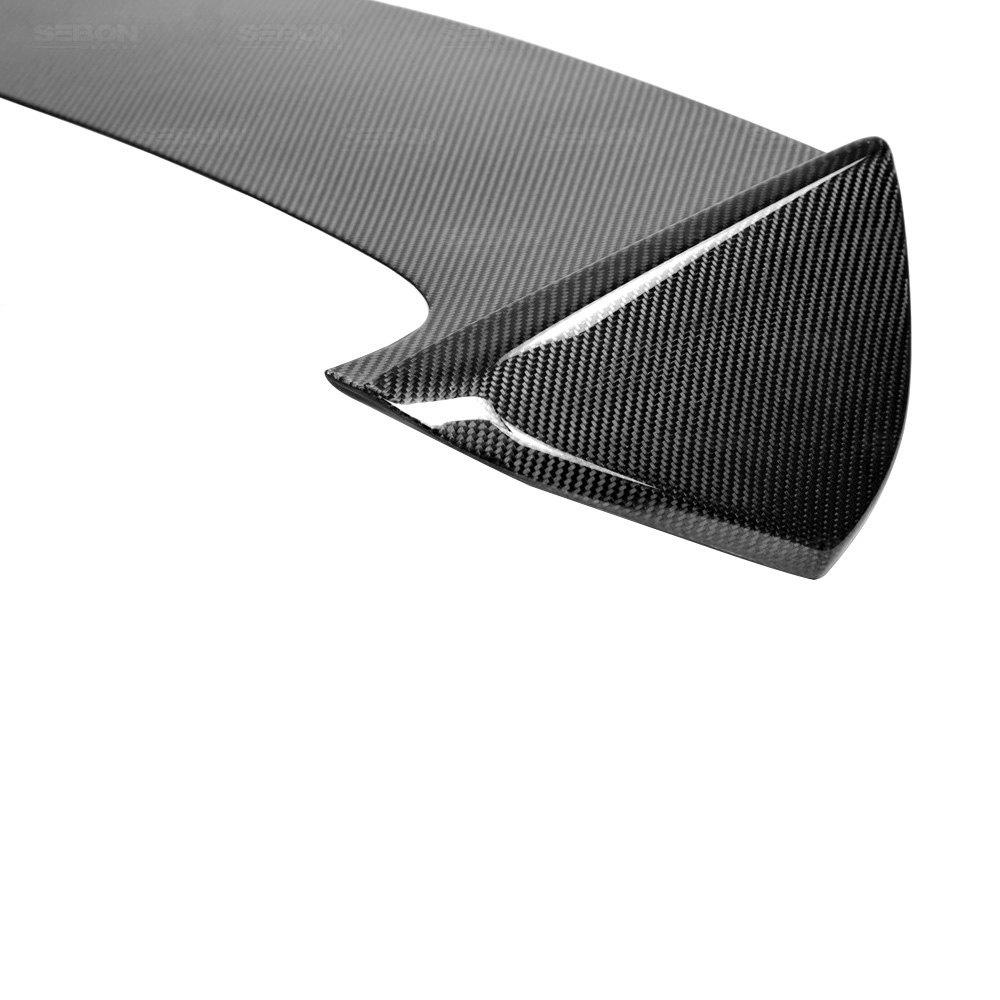... STI Style Carbon Fiber Rear Roof SpoilerSeibon® ...