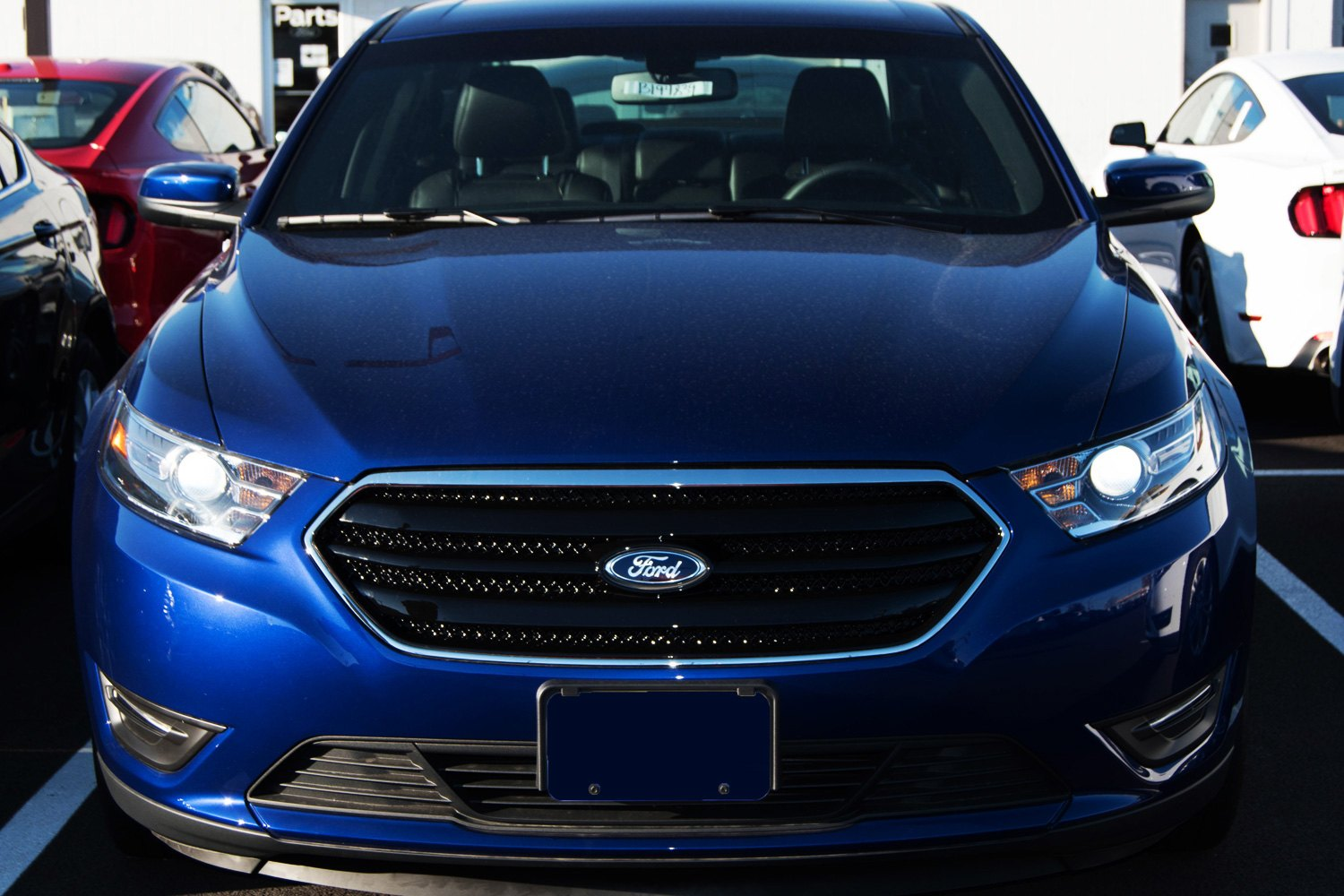 2015 ford taurus custom style grilles by ses trims ford inside news community