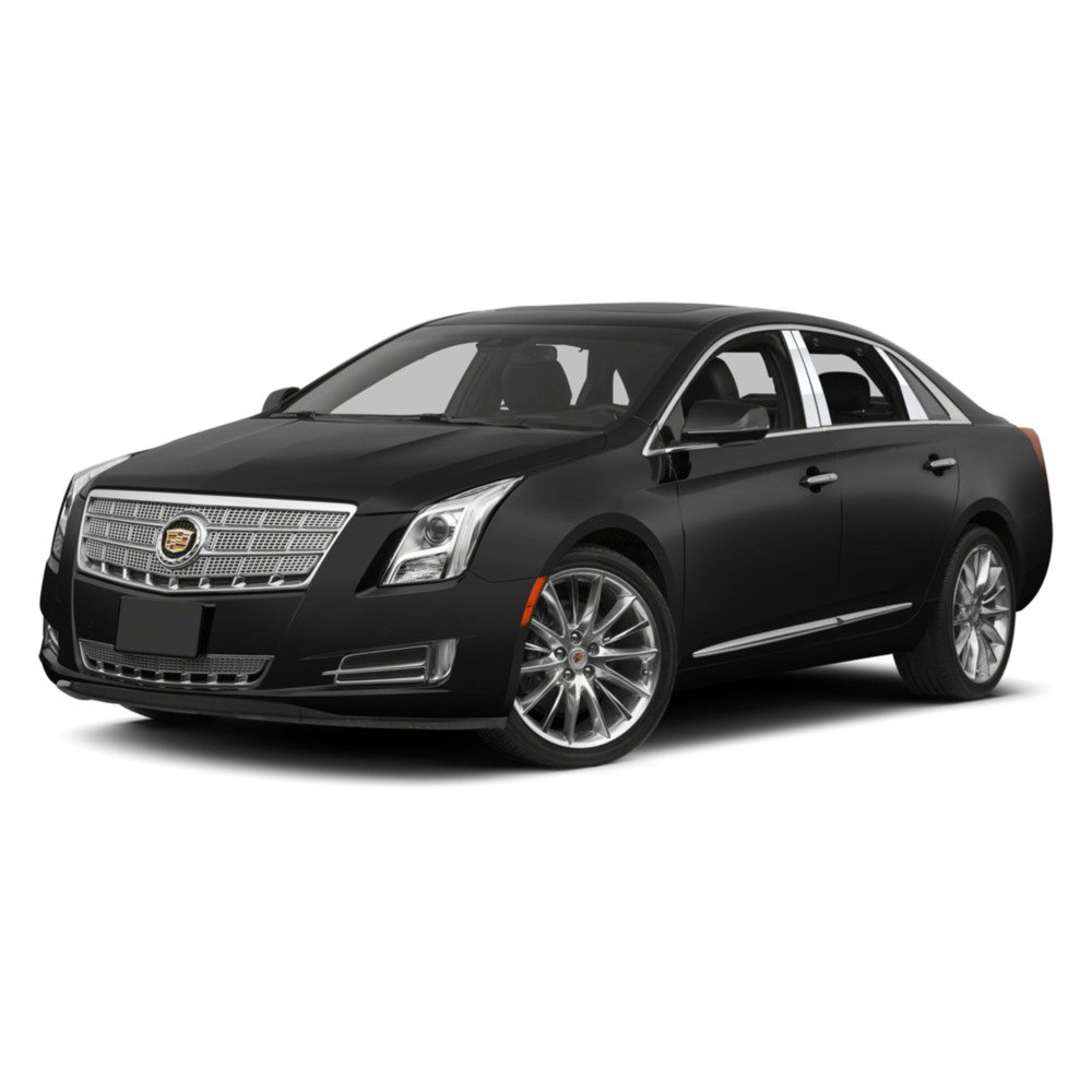 Cadillac Accessories Catalog: Cadillac XTS 2013-2016 Stainless Steel Pillar Posts