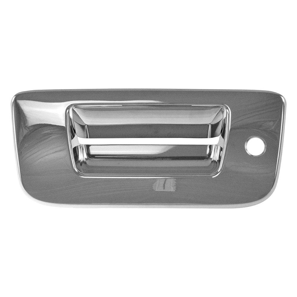 ses trims chevy silverado 2008 2013 chrome tailgate handle cover. Black Bedroom Furniture Sets. Home Design Ideas
