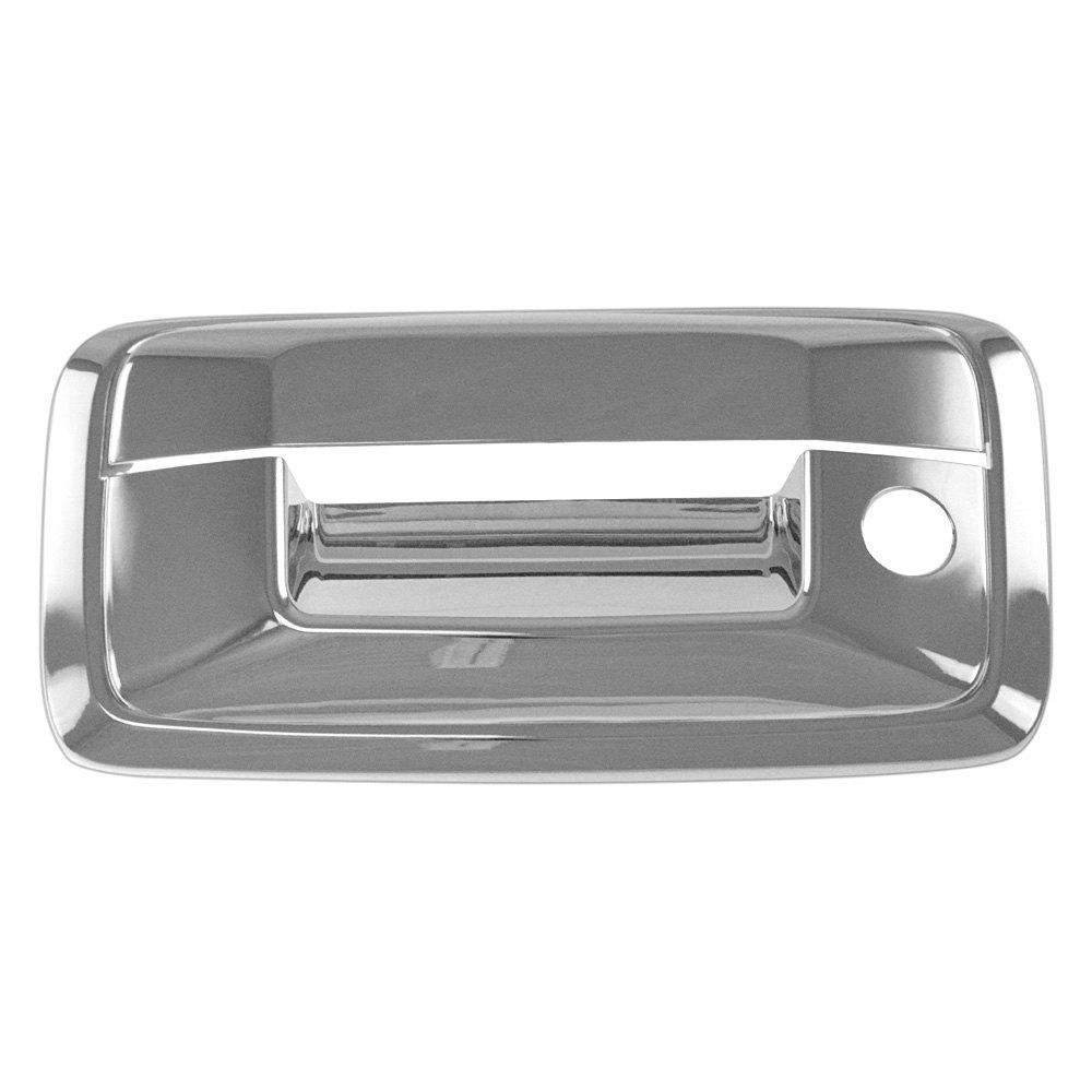 ses trims chevy silverado 2014 tailgate handle cover. Black Bedroom Furniture Sets. Home Design Ideas