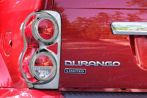 Ses Trims Tl118 Dodge Durango 2006 Chrome Tail Light Bezels