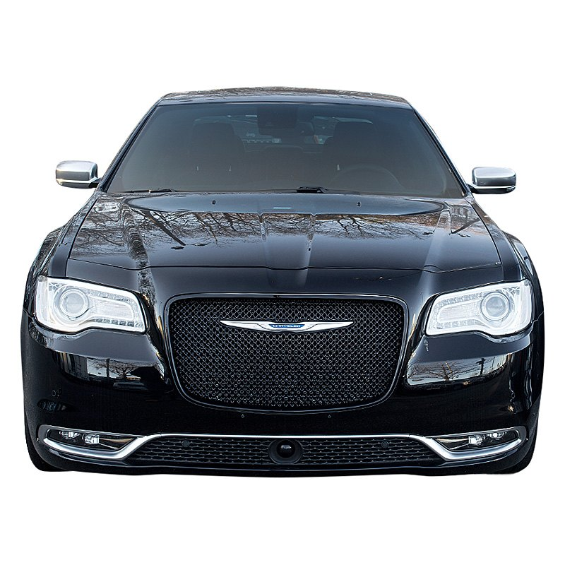 Chrysler 300 2015-2017 1-Pc Gloss Black Mesh
