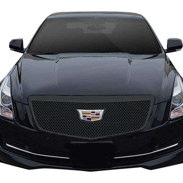 For Cadillac ATS 2015-2019 SES Trims 1-Pc Gloss Black Mesh